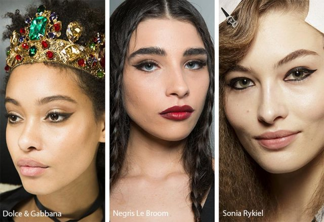 fall_winter_2018_2019_makeup_trends_black_eyeliner